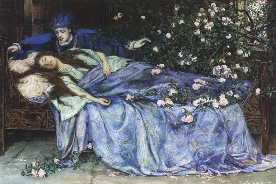 Henry_Meynell_Rheam_-_Sleeping_Beauty (1)