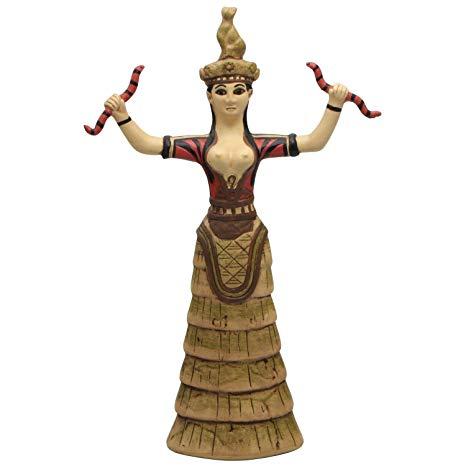 snake cat goddess